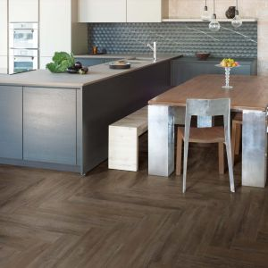 Carrelage sol aspect parquet Just You Wenge