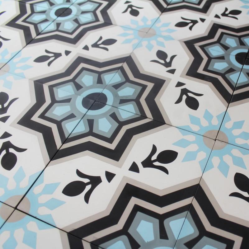 carreau ciment athena carrelage ciment motifs d cors. Black Bedroom Furniture Sets. Home Design Ideas