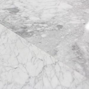Carrelage 100% Marbre poli blanc Carrare Lucido Rettangolo Grande