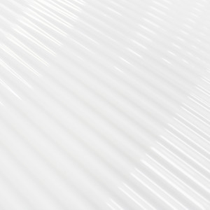 Carrelage mural blanc Pencil White Glossy