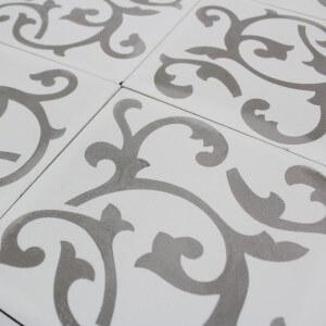Carreau ciment ronce grey