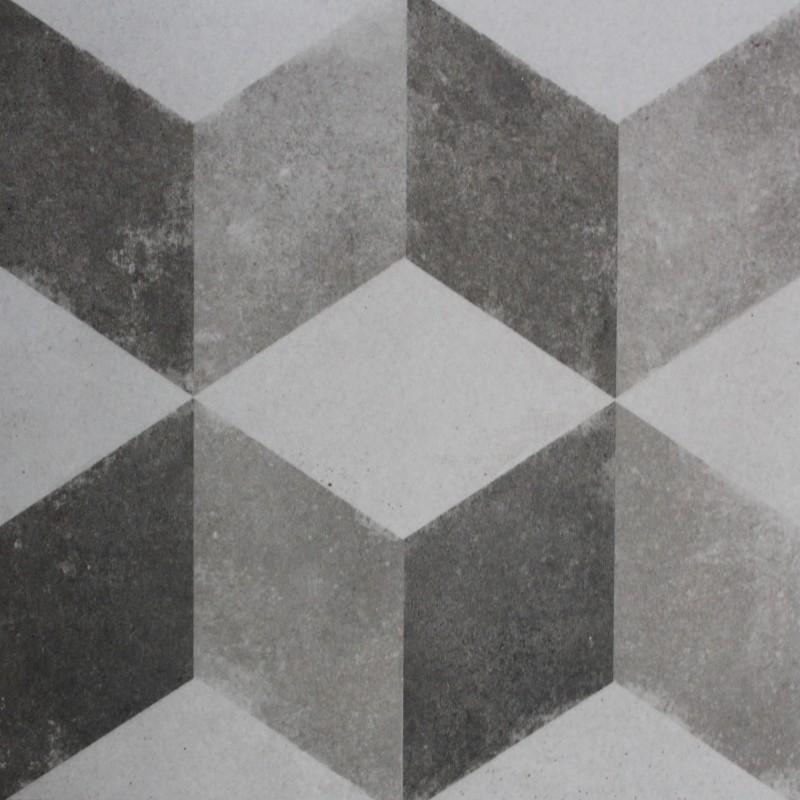 Faience Marbre Salle De Bain : Carrelage sol aspect carreau ciment vintage decoro cubo
