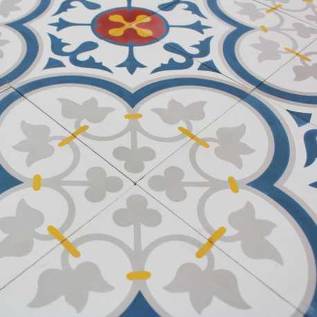 Carreau ciment Rosas Royal