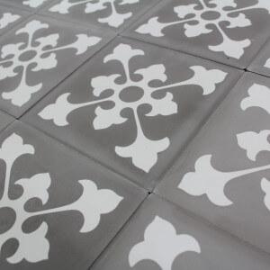 Carreau ciment grey riad
