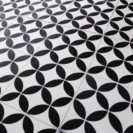 carreau ciment acacia carrelage ciment noir blanc motifs d cors. Black Bedroom Furniture Sets. Home Design Ideas