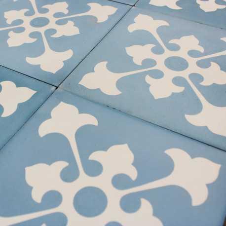 Carreau ciment blue riad