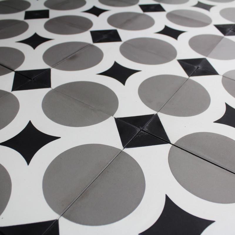 carreau ciment cross carrelage ciment r tro motifs d cors. Black Bedroom Furniture Sets. Home Design Ideas