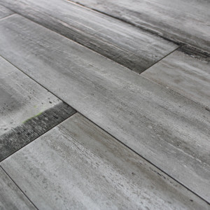 Carrelage sol aspect parquet Wood Grey