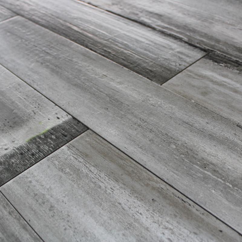 carrelage sol aspect parquet wood grey imitation parquet ch ne gris. Black Bedroom Furniture Sets. Home Design Ideas