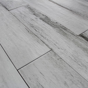 Carrelage sol aspect parquet Wood White