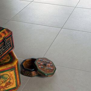 Carrelage sol extérieur Samsara ivoire STR 45x45 cm