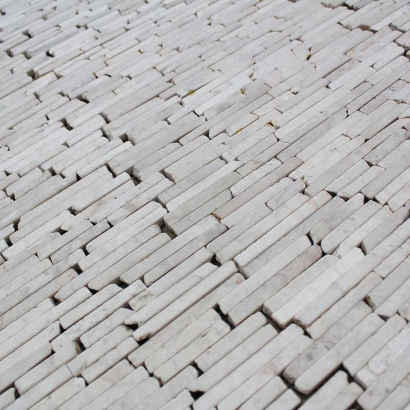 Opus marbre stick white marbre pas cher ext rieur et for Carrelage effet marbre pas cher