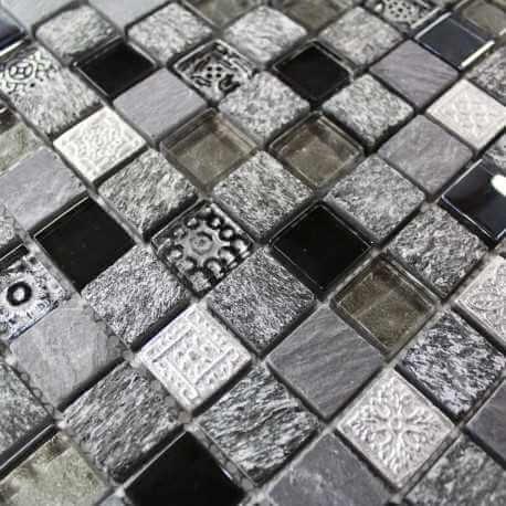 Mosaïque sol et mur Muguet, carrelage mosaique salle de bain
