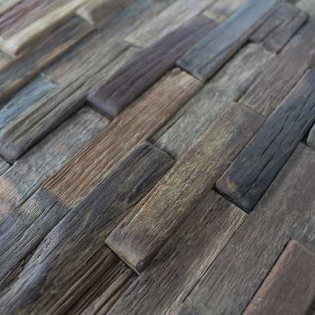 mosa que mur baton bois carrelage mosaique en bois pas cher. Black Bedroom Furniture Sets. Home Design Ideas