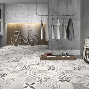 Carrelage imitation carreaux de ciment parquet carrelage - Carrelage effet carreau ciment ...
