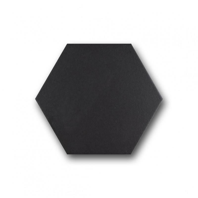 carrelage hexagonal noir basique sol et mur parquet carrelage. Black Bedroom Furniture Sets. Home Design Ideas