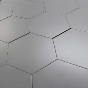 Carrelage hexagonal carrelage octogonal tomette for Carrelage blanc hexagonal