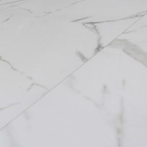 Carrelage sol poli aspect marbre Blanco Athenas