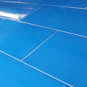 Carrelage mural Loft Bleu Brillant