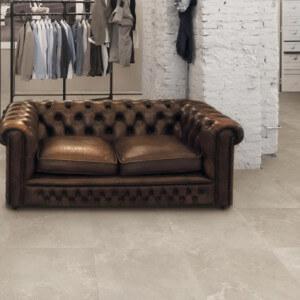 Carrelage XXL Concrete Almond 60x120 cm