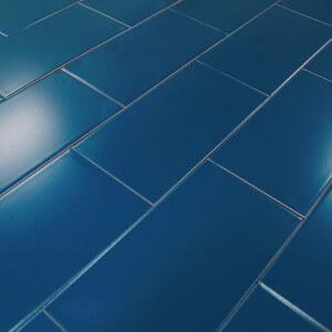 Carrelage metro blanc noir carreaux m tro parquet for Carrelage 5x5 bleu