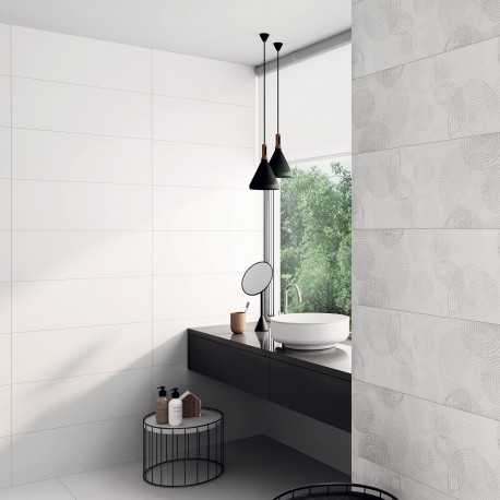 beautiful carrelage salle de bain blanc mat contemporary