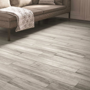 Carrelage sol aspect parquet Timber Grigio