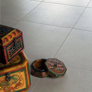 Carrelage sol extérieur Samsara ivoire STR 30x30 cm