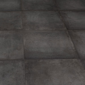 Carrelage sol aspect béton Atomium Anthracite 60x60 cm