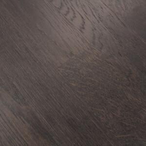 Parquet contrecollé chêne Wenge Brossé vernis mat