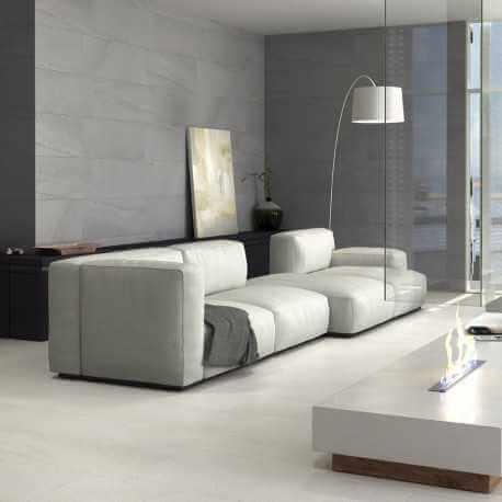 carrelage sol et mur aspect pierre m tallis e advance beige. Black Bedroom Furniture Sets. Home Design Ideas