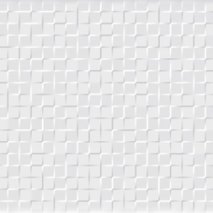 Carrelage mural Mosaique Square Blanca