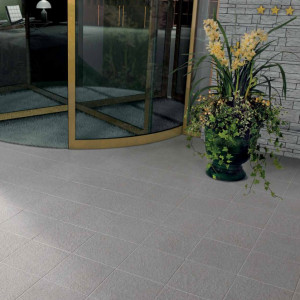 Carrelage sol exterieur Patio Titane Outdoor 45x45 cm