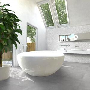 Carrelage sol et mur aspect Béton Grey Cold Tre 30x60