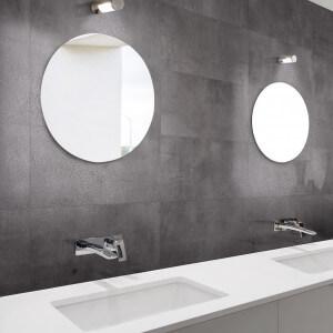 Carrelage sol et mur aspect béton Nice Anthracite lapatto 30x60 cm