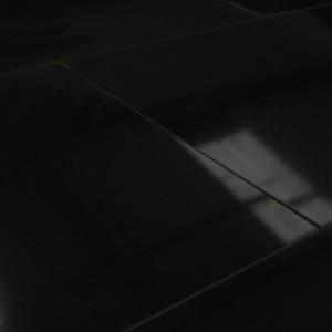 Carrelage sol Poli Noir 30x60 cm