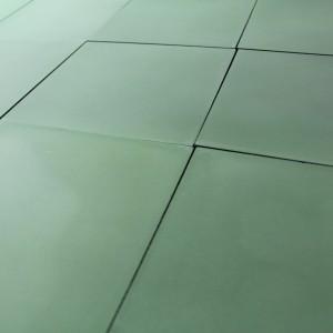 Carreau ciment Vert Uni