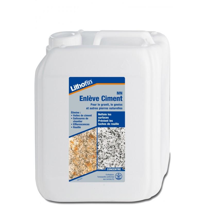 Entretien carrelage lithofin mn enl ve ciment 5l for Entretien carrelage